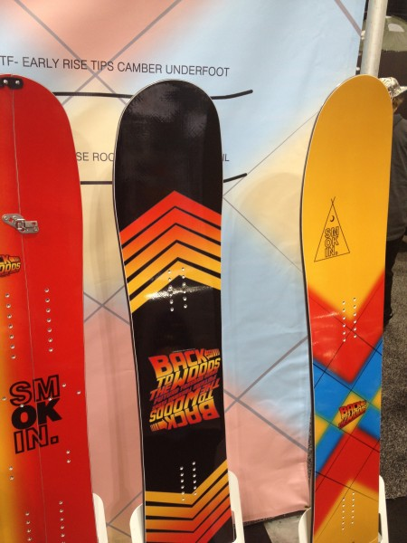 Sadly I doubt hoverboards have been invented yet, but with 2015 around the corner Smokin is taking us Back to the Future er Woods with this twin pow stick.
