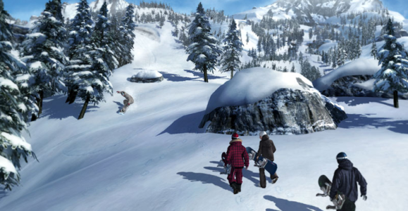 The future of Supernatural. Riders will fly to Baldface to sit in the lodge and virtually hike the virtual course.