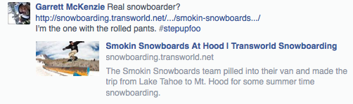 Because unless your'e featured on Transworld you are not a snowboarder.