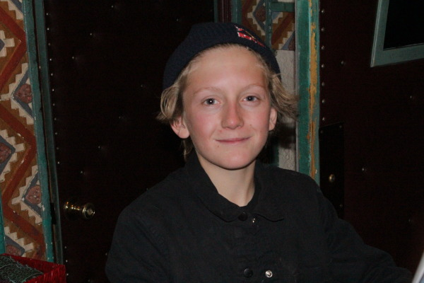 Red Gerard, not the youngest in the movie.