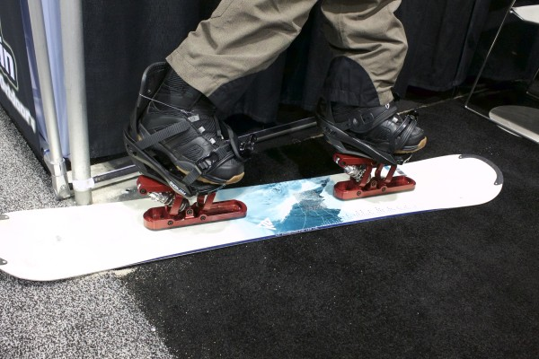The evolution of the snowboard riser pad.