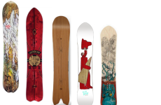 2015 Top 5 Directional Powder Boards